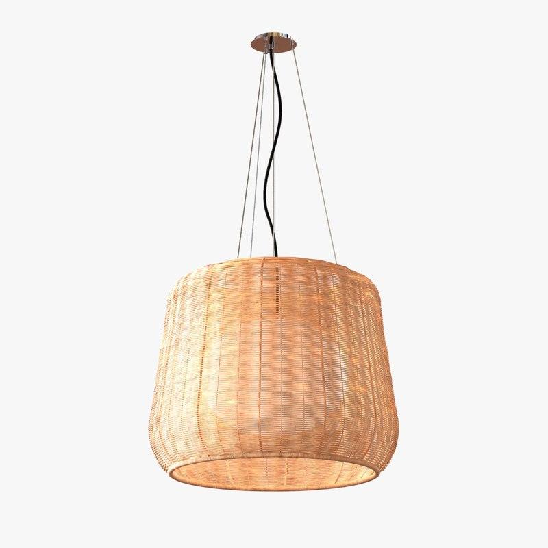 3d lamp light fora outdoor