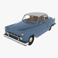 3d chevrolet bel air car