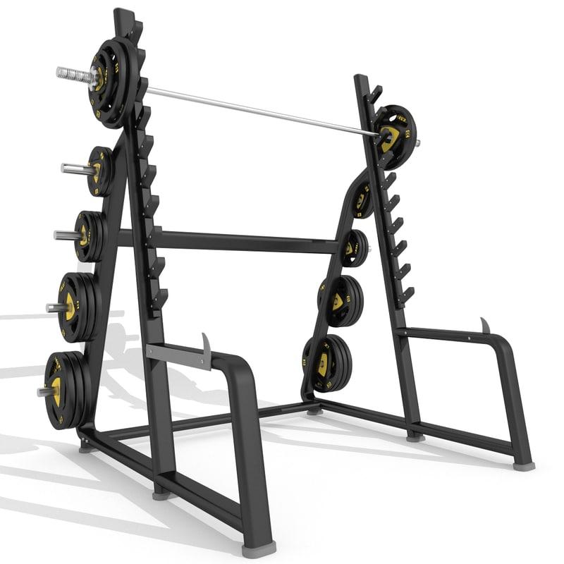 max squat rack station