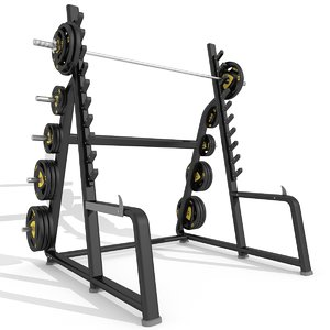 max squat rack station