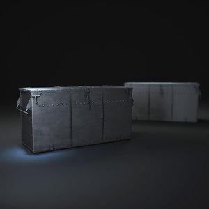 voyager-trunk 3d model