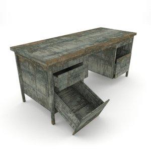 blend desk old