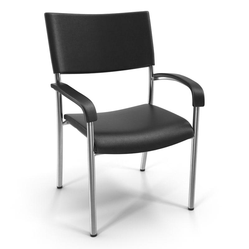 3d office chair 3