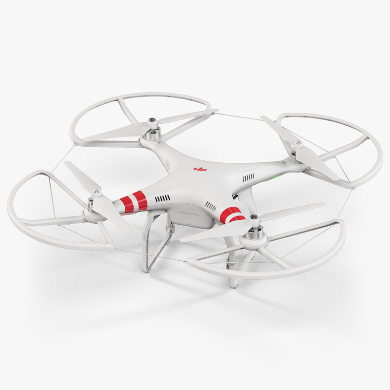 3ds max dji phantom 2 quadcopter