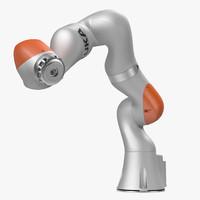 kuka robot lbr iiwa 3d x