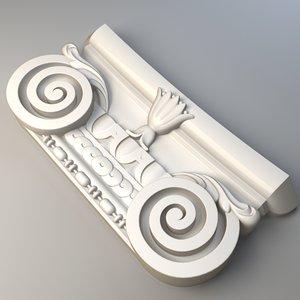 max decorative capitals