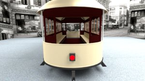 3d trolley 20th century