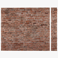 3d brick wall seamless tiling