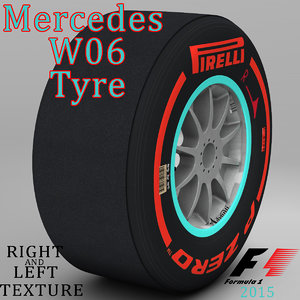 3ds pirelli tyre w06