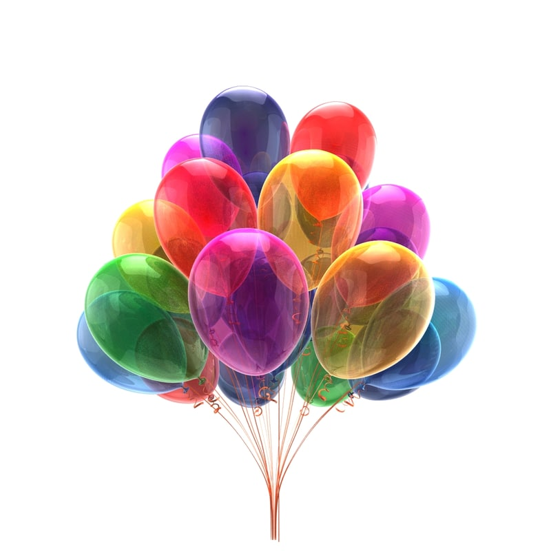 party balloons max