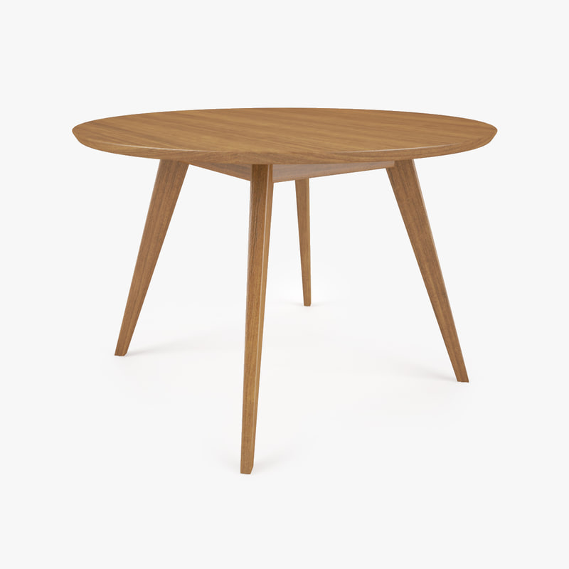 Knoll risom dining table 3d max for Table 52 2015