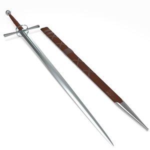3d long sword