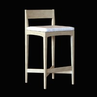 3d model barstool stool modern