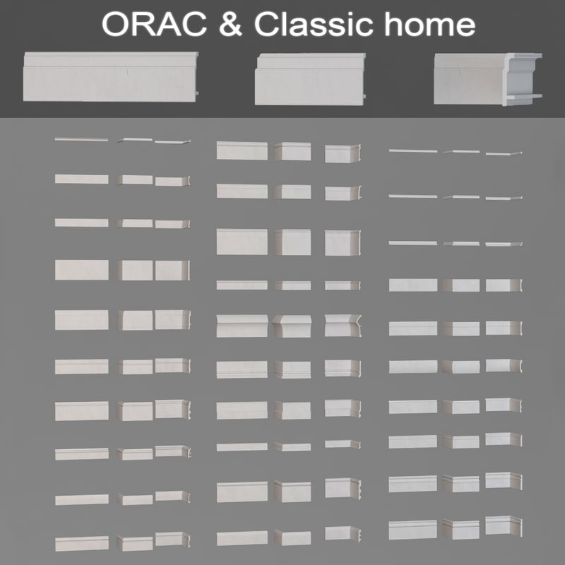 3ds max floor baseboards orac classic
