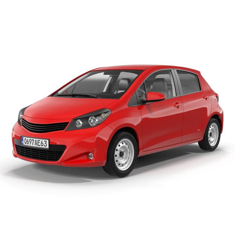 generic hatchback 3d max