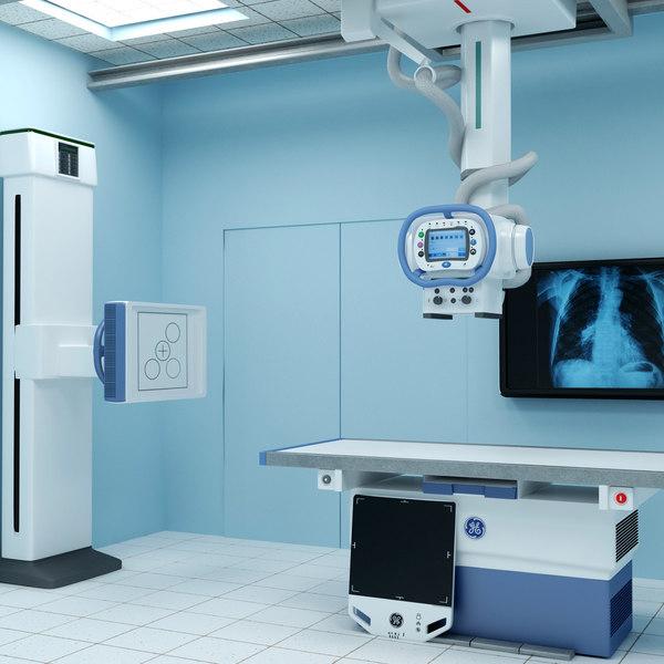 3d x-ray room optima xr646