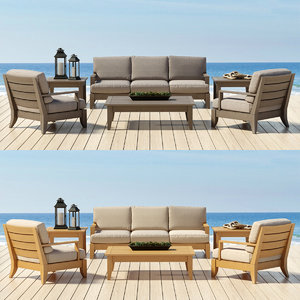 3d model of outdoor furniture santa barbara