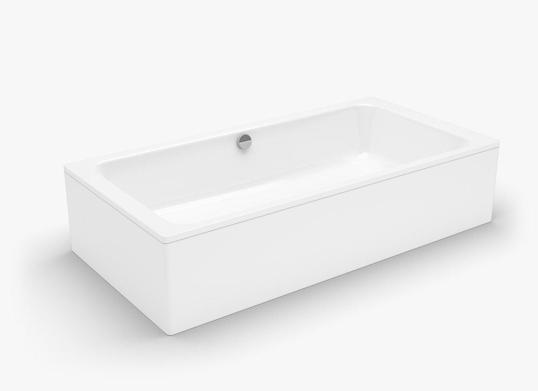 kaldewei bassino bath tub obj