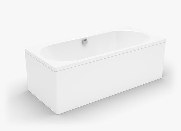 3d model kaldewei centro duo bath tub