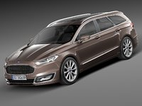 3ds max 2015 estate mondeo