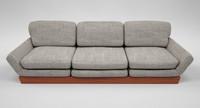 3dsmax grey sofa mahogany wood