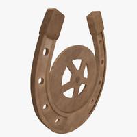 3d horseshoe luck