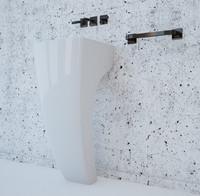 cinema4d basin bath bathroom