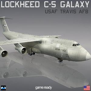 lockheed c-5 galaxy usaf max