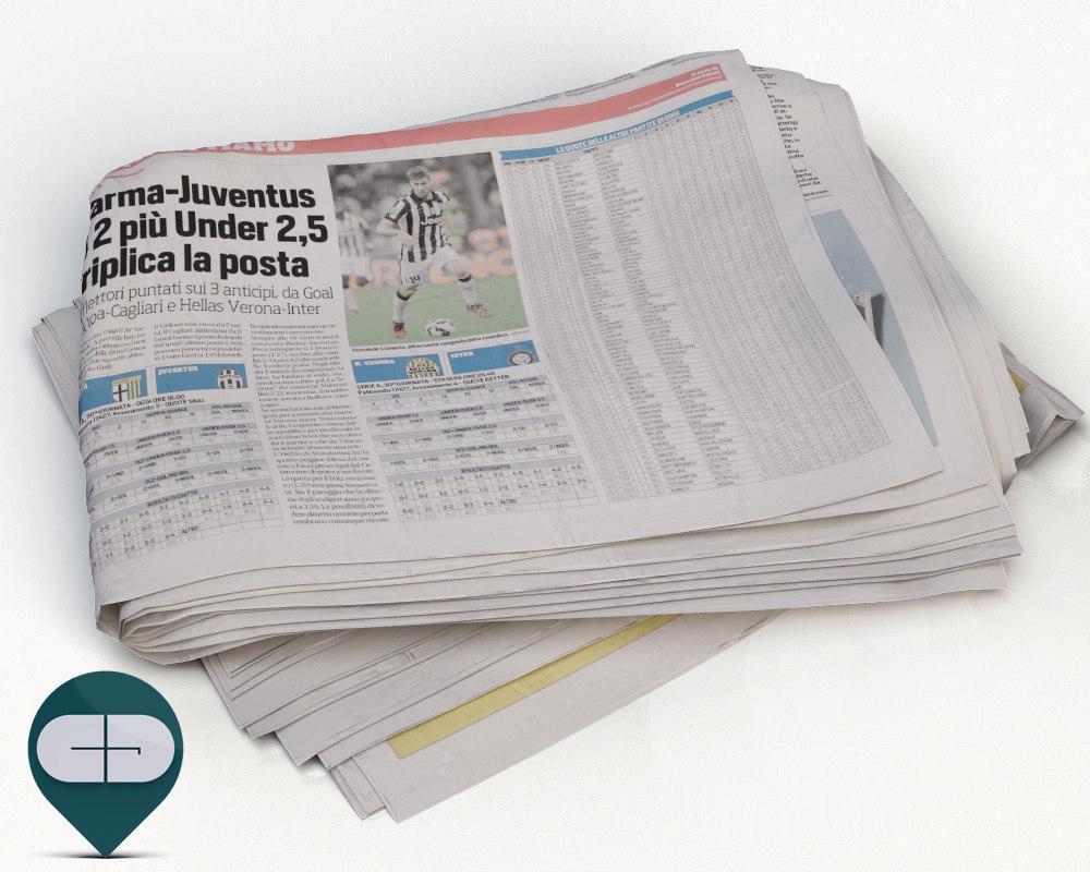 corriere sport newspaper 3ds