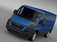 3d citroen relay van l1h1 model