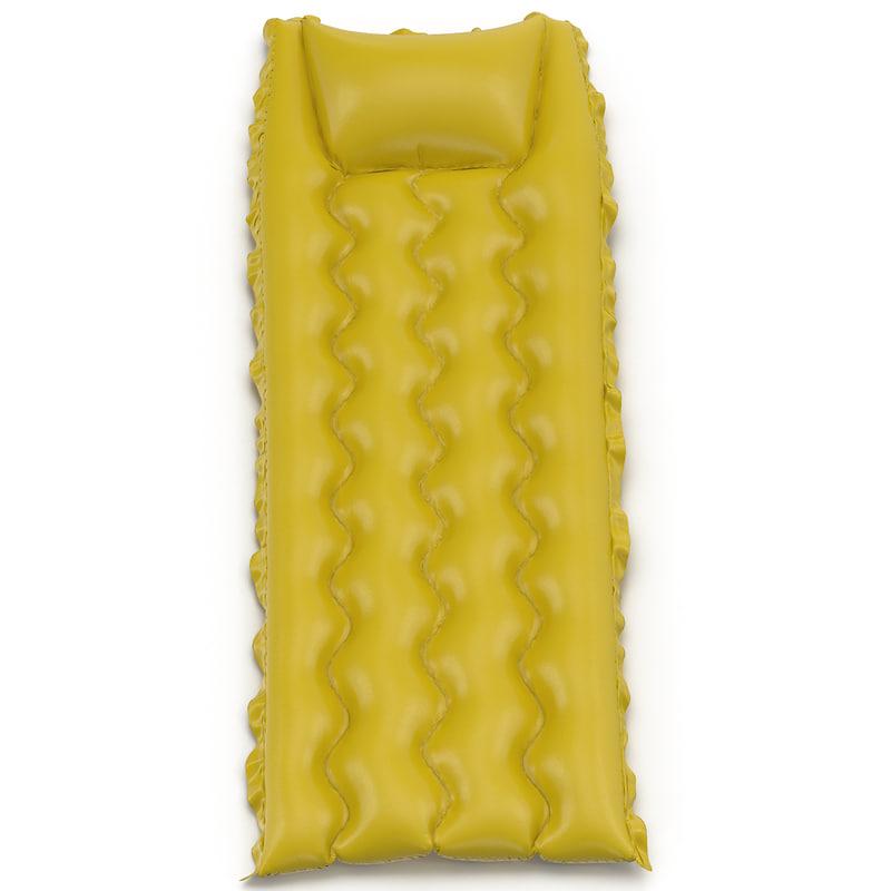 inflatable air mattress 2 3d model