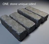 3d stone model