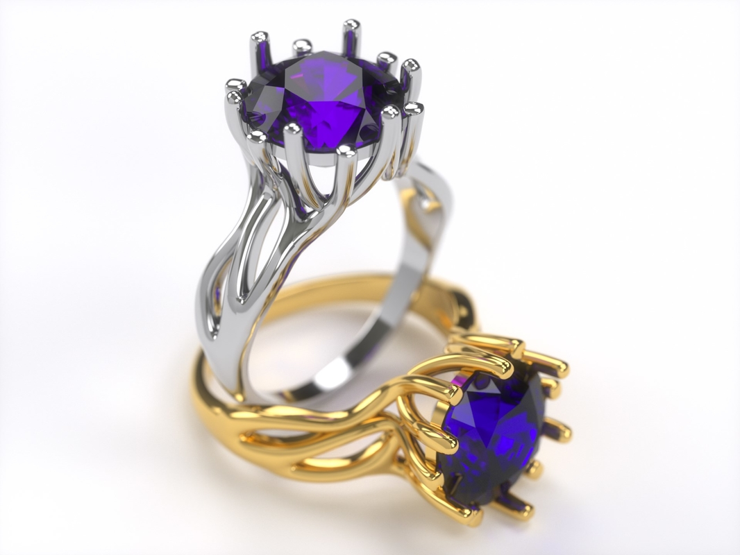 3d 3ds 0007 ring -
