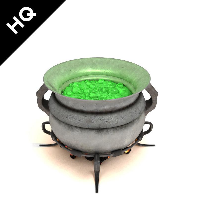 cauldron 3d max