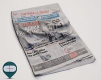 3dsmax corriere sport newspaper
