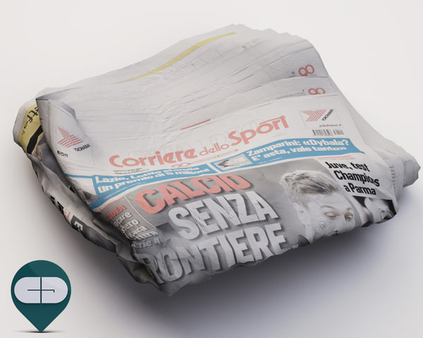 corriere sport newspaper obj