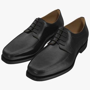 man shoes 5 3d model