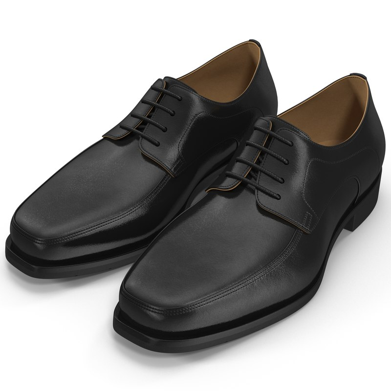 man shoes 5 3d model