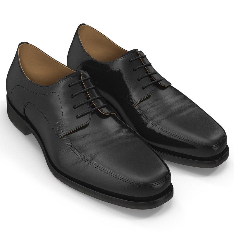 3d old man shoes 5
