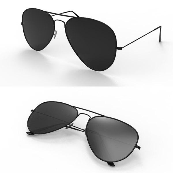 3d sun aviator model
