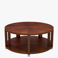 Bolier Atelier Round Cocktail Table #113002