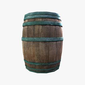 barrel obj