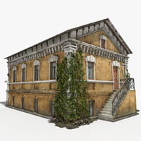 dwelling house 3d max