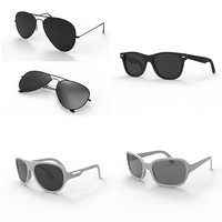 sun glass sunglasses 3d obj