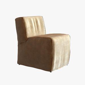 chair restoration hardware bruno 3d 3ds