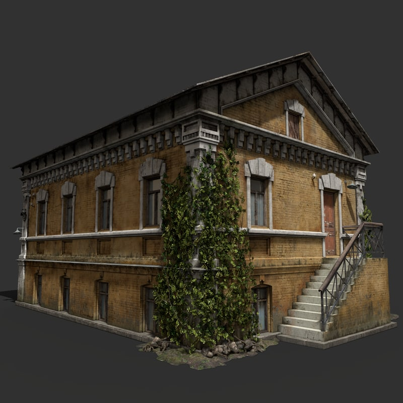 dwelling house 3d max