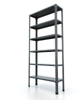 3d model steel rack