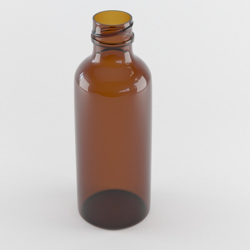 amber glass bottle max