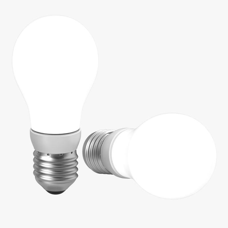 energy saving light 3d max