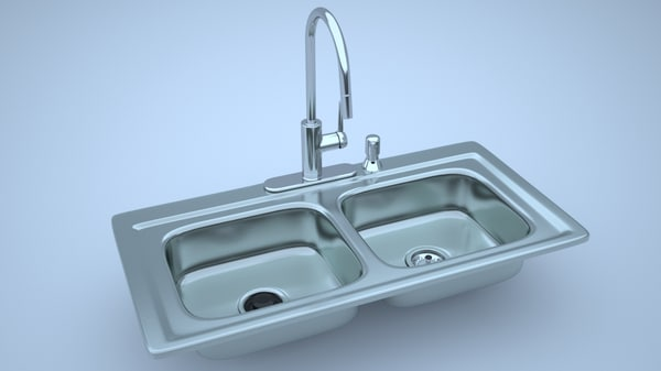 obj stainless steel kitchen sink